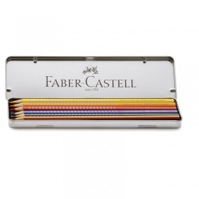 Faber-Castell 6 Colour GRIP im Metalletui