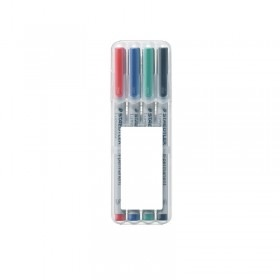 Staedtler Lumocolor Permanent Pen S in 4er Box