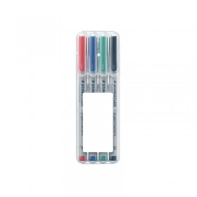 Staedtler Lumocolor Non-Permanet Pen F in 4er Box