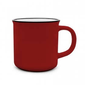 Retro Tasse Matilda 350ml rot